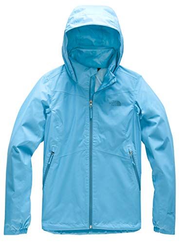 The North Face Women's Resolve Plus Jacket, Turquoise Blue/Turquoise Blue, XS