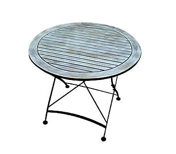 Amazon De Vintage Gartentisch Terrassentisch Bistrotisch Tisch