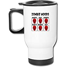 Humor Zombie Moods Happy Sad Angrypopular 2016 Hot Personalized Mugs Tumbler