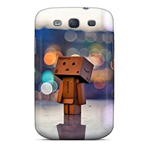 Galaxy S3 Case, Premium Protective Case With Awesome Look - Danbo In The City