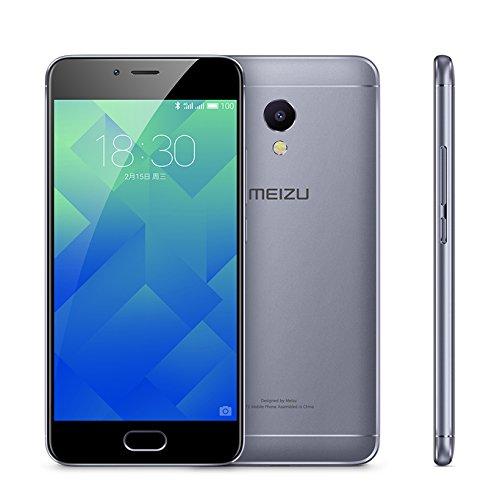 MEIZU M5S Unlocked Smart Cellphone MTK6753 Octa Core 3GB 32GB 5.2'' HD IPS Fingerprint Fast Charging Mobile(Gray) by Meizu