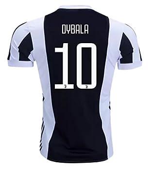 4ab5e77e3 Paulo Dybala  10 Juventus 17 18 Home Color Black White Size L ...