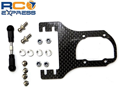 Hpi Servo Mount (Hot Racing GWK24R Graphite Steering Servo Mount)