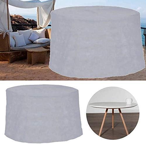 家具ダストカバー 屋外防水家具カバーポリエステル+ PVCコーティングパティオダスト表と椅子カバー 優れた汎用性 (色 : グレー, Size : 320x94cm)