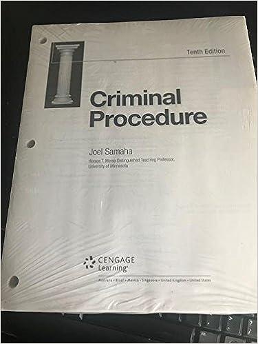 Criminal Law Joel Samaha 12th Edition [PDF]