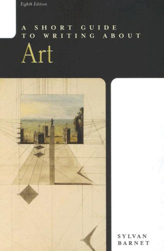A Short Guide to Writing About Art (Short Guide)