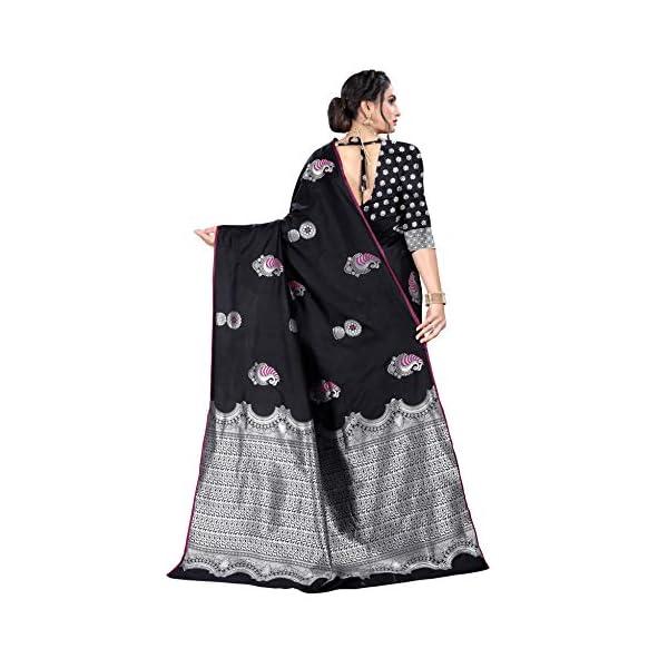 Shiv Textiles Silk Saree with Blouse Piece