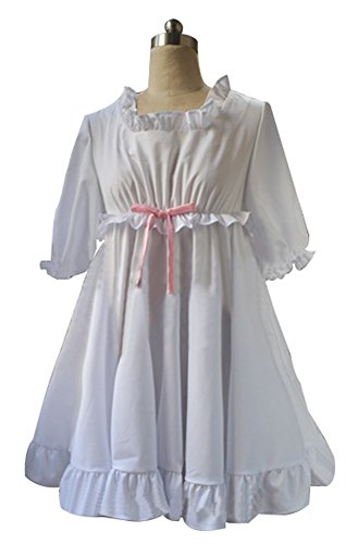 Mtxc Women's Diabolik Lovers Cosplay Yui Komori One-piece Size Medium White