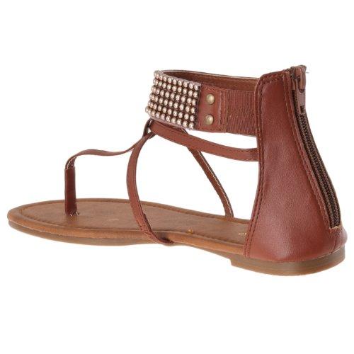 Le Donne Di Bambù Promettono Sandali Con Cinturino Con Perline Con Dettagli