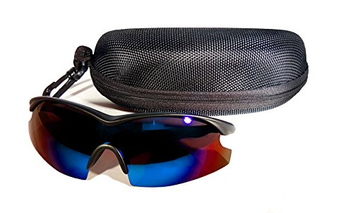 TAC GLASSES by Bell+Howell Sports Polarized Sunglasses for Men/Women, Military-Inspired As Seen On TV - Sunglasses Seen