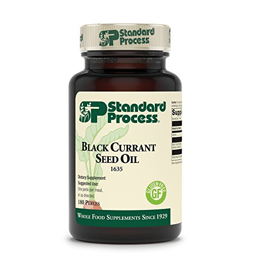 Standard Process - Black Currant Seed Oil - Gamma-Linoleic Acid Supplement, Supports Healthy Skin, Normal Blood Flow, Tissue Repair, and Immune System Function, Gluten Free - 180 Perles by Standard Process (Image #1)