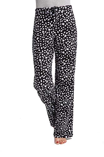 Blue Cotton Pajama - CYZ Women's Casual Stretch Cotton Pajama Pants Simple Lounge Pants-ButterflyPrint-L