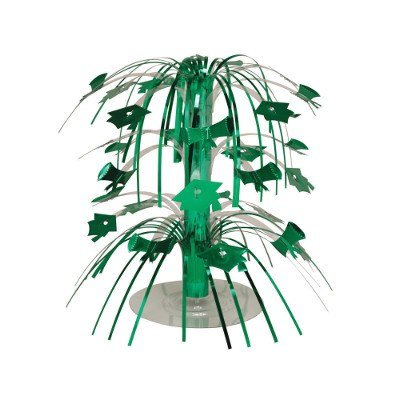 Pack of 12 Emerald Green Mini Cascade Centerpiece Graduation Party Decorations 8.5''