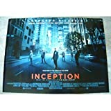 Inception - Leonardo Di Caprio - British Movie Poster