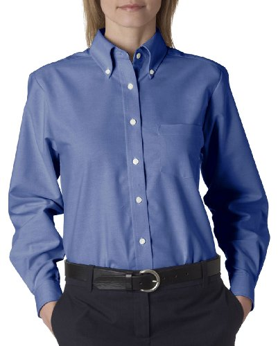 69dd46ee1 Ultraclub 8990 UC Ladies Oxford Shirt - French Blue - 2XL - Buy Online in  Oman. | Apparel Products in Oman - See Prices, Reviews and Free Delivery in  Muscat ...