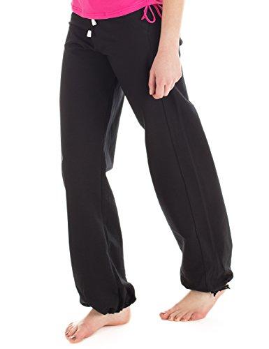 Winshape WTE8 Pantalon d'entraînement pour femme Pour loisirs, sport et yoga XL Noir - Noir