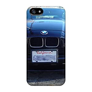Flexible Tpu Back Cases Covers For Iphone 5/5s - Bmw 850i Head On