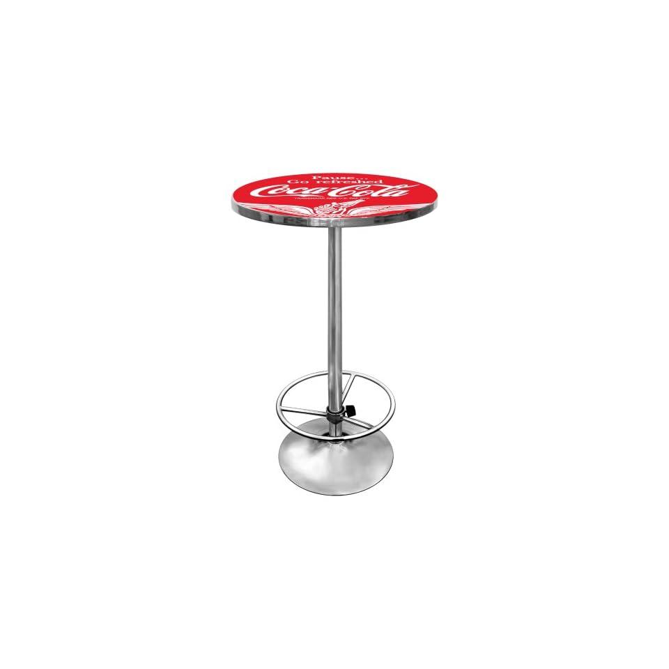 Trademark Wings Coca Cola Pub Table