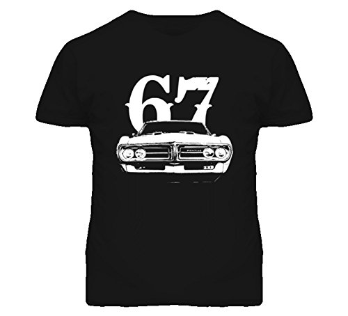Firebird Grill (1967 Firebird Grill View With Year Faded Look Dark T Shirt XL Black)