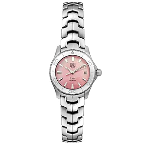 TAG Heuer Women's WJ1315.BA0573 Link Quartz Pink Mother of Pearl Watch (Pink Tag Watch)