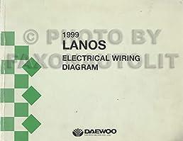 1999 daewoo lanos wiring diagram manual original daewoo Electrical Diagram