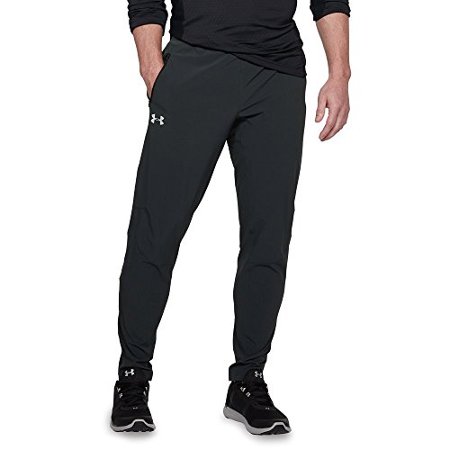 Under Armour Outrun The Storm SP Pant - Men's Anthracite/Black/Reflective, S by Under Armour (Image #1)