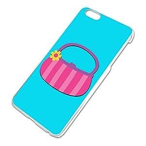 Purse Bag Handbag Shopping Stripe Slim Fit Hard Case Fits Apple iPhone 6 Plus