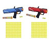 NERF Rival Apollo XV 700 Red/Blue with 2-100 Packs of Ammo - Bundle