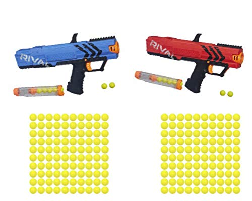 NERF Rival Apollo XV 700 Red/Blue with 2-100 Packs of Ammo - Bundle by NERF (Image #8)