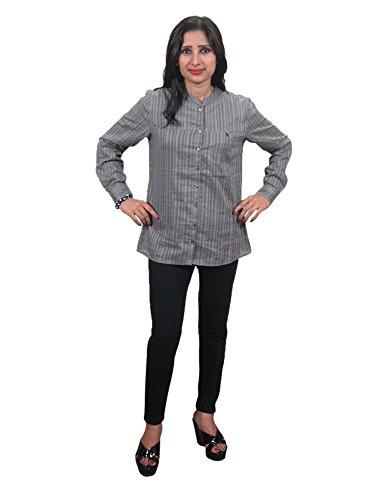 Interior Camisas Para Gris Mogul Mujer adz0n14xW