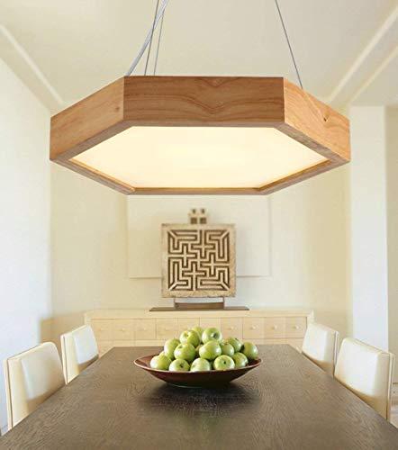 SPA ® Led de madera maciza Comedor Modernas lámparas de araña de ...