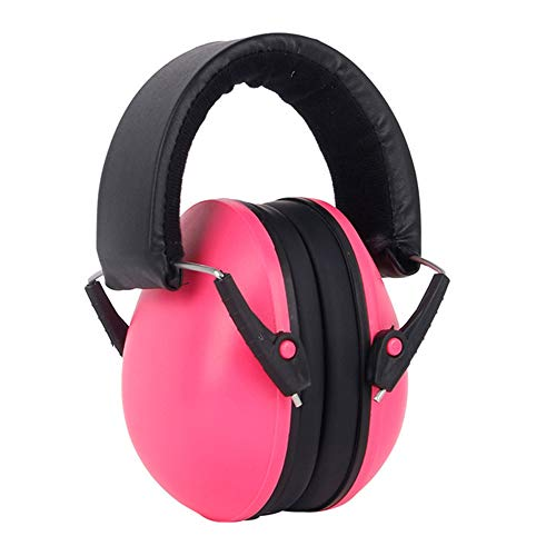 Noise Cancelling Ear Muffs for Baby Infant Kids Hearing Protection Headphones (Red) from Unee1