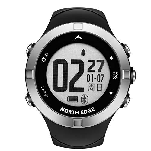 Kiorc North Edge Smart Sport Watch GPS Time Waterproof Outdoor Jogging Running Watch Black