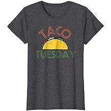 Taco Tuesday Fun Distressed Food Shirt