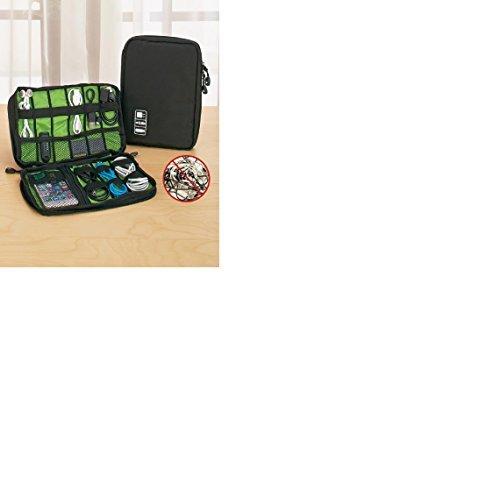 Multimedia Accessory Organizer Case Waterproof Black by Pixel Perfect MK