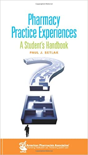 Book Pharmacy Practice Experiences: A Student's Handbook