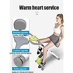 QLGRXWL-Cyclette-Cyclette-Cyclette-per-Ciclismo-Fitness-a-casa-Pieghevole-Pieghevole-per-Allenamento-Muto-Controllo-Magnetico-Allenamento-Attrezzature-Sportive-con-Supporto-iPad