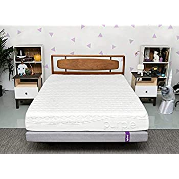 Purple Queen Mattress | Hyper-Elastic Polymer Bed Supports Your Back Like A Firm Mattress and Cradles Your Hips and Shoulders Like A Soft Mattress - Cooler and More Supportive Than Memory Foam