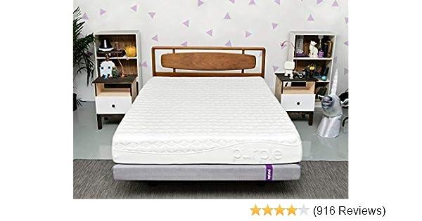 Amazoncom Purple Queen Mattress Hyper Elastic Polymer Bed