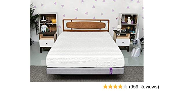 Purple Queen Mattress Hyper Elastic Polymer Bed Supports Your Back Like A Firm Mattress And Cradles Your Hips And Shoulders Like A Soft Mattress