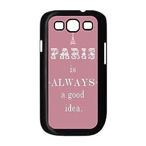Audrey Hepburn Quotes Custom Cover Case for Samsung Galaxy S3 I9300,diy phone case ygtg-780968 hjbrhga1544