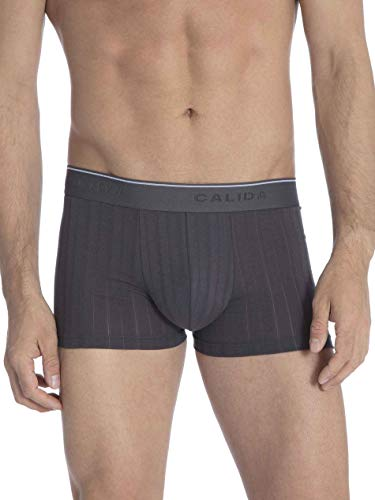 Calida Pure & Style Quick Dry Pima Cotton Boxer Briefs Trunk (26686) (767, Large)