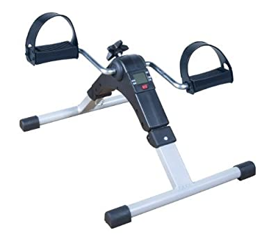 Drive Medical Deluxe Folding Exercise Peddler with Electronic Display, Black, Discontinued