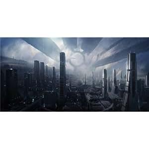 Mass Effect (48inch x 24inch / 120cm x 60cm) Silk Printing - Silk Print Poster - 80FF05