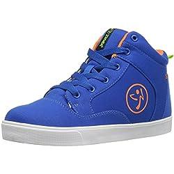 Zumba Women's Street Fresh Dance Shoe, Blue, 10 M US