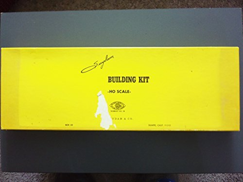 Suydam HO Scale Building Kit 3 Stall Branch Line Roundhouse Kit #8