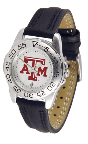 Texas A&M Aggies TAMU NCAA Womens Leather Wrist - A&m Wrist Watch Texas