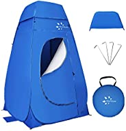 FRUITEAM Pop Up Privacy Tent,Dressing Changing Room,Portable Outdoor Shower Tent,Privacy Shelters Room,Camp To