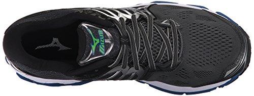 Mizuno Men's Wave Horizon Running Shoes Dark Shadow/True Blue/Jasmine Green XCk9Cr3ze