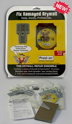 Prest-on Drywall Repair Kit with Drywall